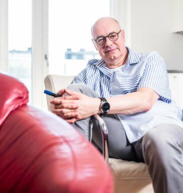 Hannes Sonnberger Portrait. Foto Simon Klein