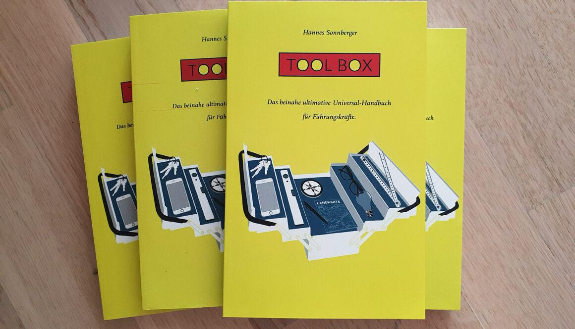 Foto vom Toolbox Buch-Cover von Hannes Sonnberger